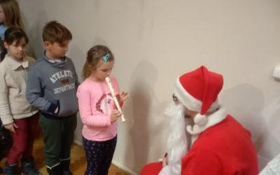 Mikulás Zenei Klub A Harmónia Zeneiskolában (december 05.)